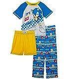 Komar Kids Boy's Sonic Three-Piece Set (Little Kids/Big Kids) Yellow LG (10-12 Big Kids)