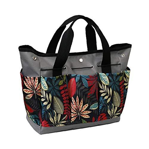 Jardinería Bolsa Kit con los bolsillos, Herramienta para el jardín bolsas de mano portátiles para trabajo pesado para Juego de herramientas Kit de interior al aire libre regalos de jardinería para