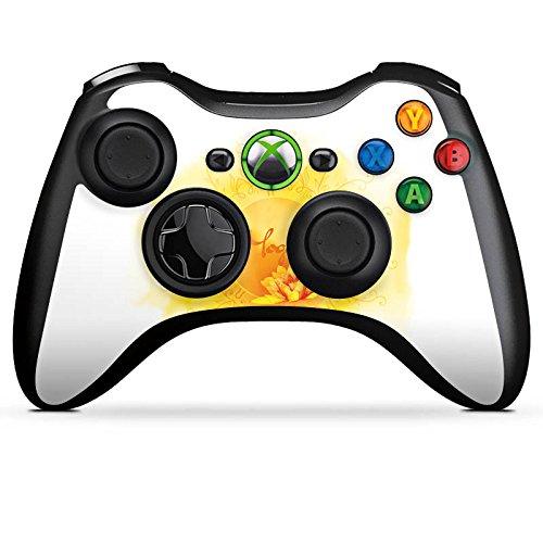 DeinDesign Skin kompatibel mit Microsoft Xbox 360 Controller Aufkleber Folie Sticker Yoga Sport Hobby