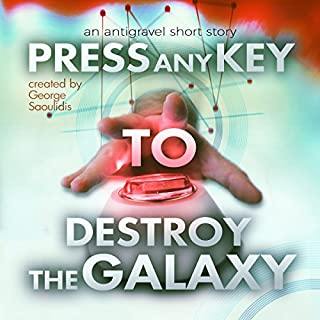 Press Any Key to Destroy the Galaxy cover art