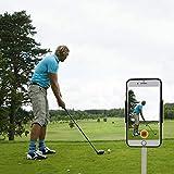 XLHVTERLI Record - Soporte Universal para Smartphone para Carrito de Golf, Soporte GPS, Apto para Todos los Smartphones