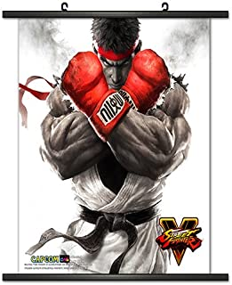 CWS Media Group Officially Licensed Street Fighter V Wall Scroll Poster 32 x 32 Inches