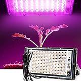 HNFGH Luces de Cultivo LED, 100w Lámparas de Crecimiento Colgante de Interior Espectro Completo, Resistente al Agua IP65, Montaje en Pared, para Plantas de Interior, Hortalizas de Invernadero, Bonsái