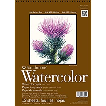 Strathmore 440-1 Block Watercolor 9X12 Plg