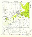 YellowMaps Lake Arthur LA topo map, 1:31680 Scale, 7.5 X 7.5 Minute, Historical, 1954, Updated 1954, 20.8 x 18 in - Tyvek