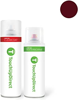 TouchUpDirect for Mitsubishi Exact Match Automotive Touch Up Paint - Wine Red (P57)