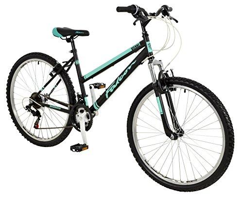 Falcon 26' Vienne Suspensión Delantera Bicicleta - Bicicleta de Montaña (Mujeres) en NEGRO Nuevo