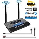 Best Bluetooth Audio Receiver Aptxes - Bluetooth 5.0 Plus Transmitter Receiver, JYCTRONE 2019 Upgraded Review