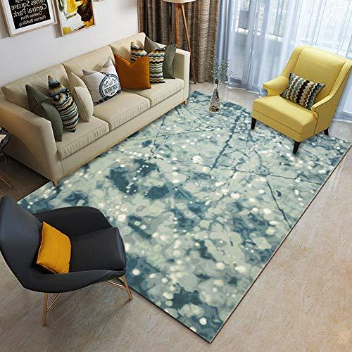 Alfombra Salón Grande Suaves para,Textura Abstracta de Piedra,Alfombra Moderna Antideslizante,200X300(79X255inch)