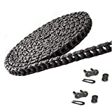 Jeremywell 40 Roller Chain 10 Feet with 2 Connecting Links