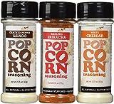 Urban Accents All Natural - Gluten Free - Non-GMO - Premium Popcorn Seasoning Variety 3 Pack -...