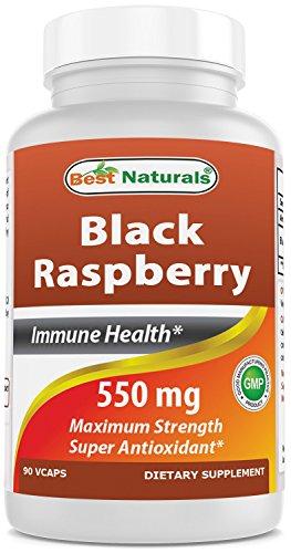 Best Naturals Black Raspberry 550 mg 90 Veggie Capsules