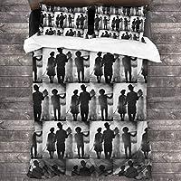 世界の終わり Sekai No Owari (4) 布団カバー 3点セット シーツ 洋式・和式兼用 寝具カバーセット 掛け布団カバー ボックスシーツ 枕カバー ベッド用 布団用 洗い替え速乾タ 防ダニ
