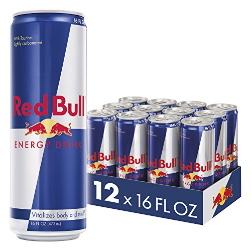 Red Bull Energy Drink 16 Fl Oz 12 Count