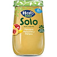 Hero Solo Tarrito Fruta Manzana Melocotón Plátano ECO - 190 gr (BIO)
