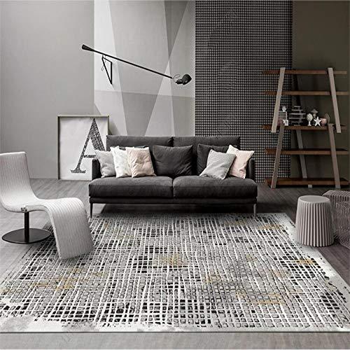 Grijs tapijt Geometrische kubus Modern Wasbaar Indoor Indoor Rug voor keuken woonkamer slaapkamer nachtkastje tapijt vloermat,40 * 120cm