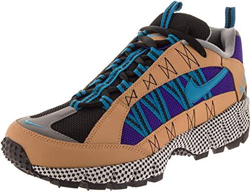 Nike Air Humara 17 QS Herren Running Trainers AO3297 Sneakers Schuhe (UK 9 US 10 EU 44, Elemental Gold Turquoise neon 700)