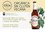 CELIA CERVEZA BIO SIN GLUTEN PREMIUM LAGER 33CL (CAJA 24 UNIDADES)