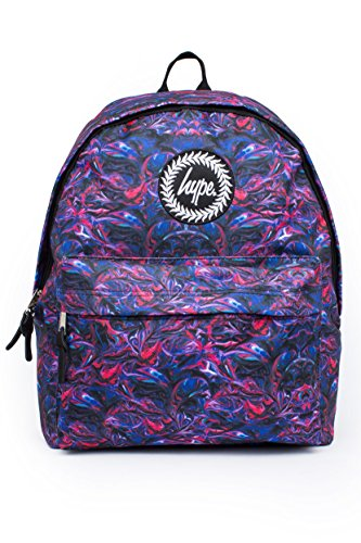 Hype Hombre Paint Swirls V2 Logo Backpack, Azul, One Size