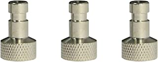 Ebest Airbrush Quick Disconnect Coupler Release Fitting 3 Male Fitting for Paasche, 1/8