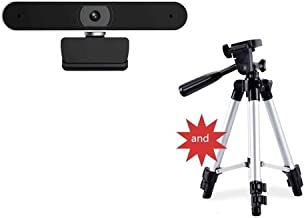 WDFDZSW 1080P Webcam with Microphone,Web Cam USB Camera, Computer HD Streaming Webcam for PC Desktop & Laptop W/Mic,Webcam...