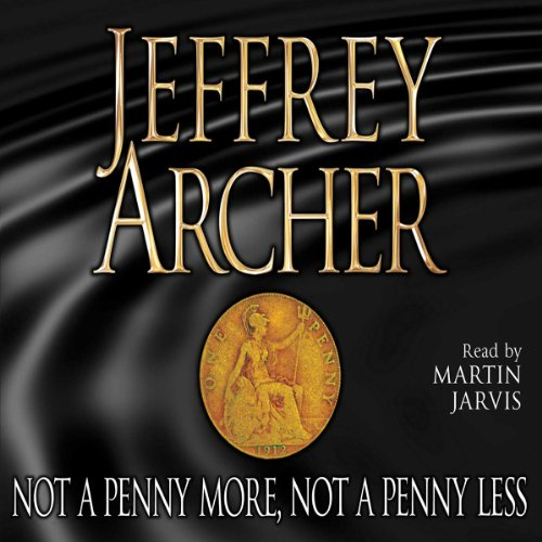 Not a Penny More, Not a Penny Less audiobook cover art