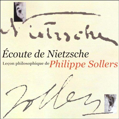 Couverture de Écoute de Nietzsche