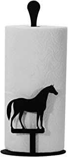 Wrought Iron Counter Top Horse Paper Towel Holder