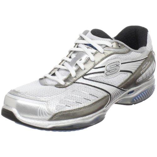 Skechers Ultra Shape Ups Toners - Zapatillas de Deporte para Mujer, Color Plateado, Talla 35