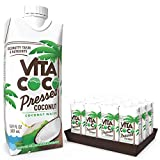 Vita Coco Coconut Water, Pressed Coconut | Impossible To Hate | Shelf Stable | Smooth, Refreshing Coconut Taste | Naturally Hydrating | Gluten Free | 16.9 Oz (Pack Of 12)