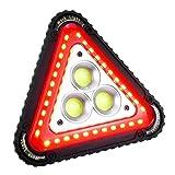 SaponinTree Lampada da Lavoro Portatile a LED, 4 Modalità Regolabili LED Ricaricabile Lampada, Impermeabile Luci di Inondazione Lanterna da Campeggio per Riparazioni Auto d'emergenza all'aperto