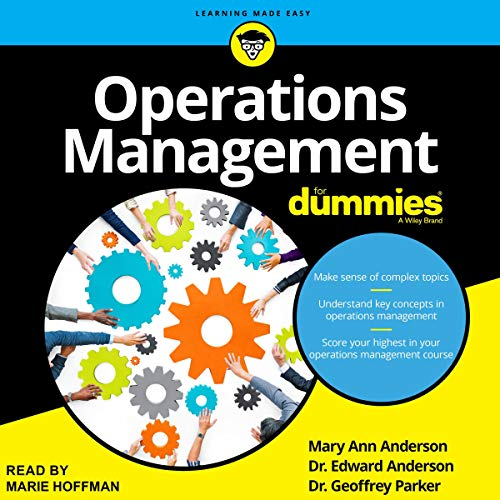 Operations Management for Dummies Audiobook By Mary Ann Anderson, Dr. Edward Anderson, Dr. Geoffrey Parker cover art