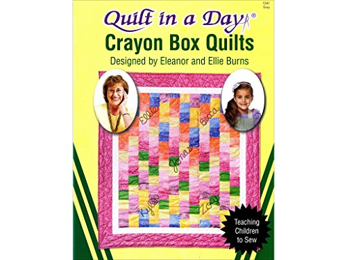 Quilt In A Day Ptrn Crayon Box Quilts Pattern