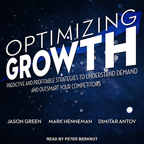 Optimizing Growth audiobook cover art