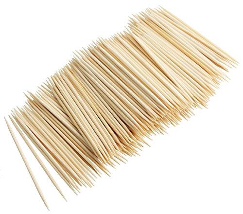 Fackelmann 57623 300 Zahnstocher, Holz, 68 mm, bambus