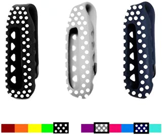 Dunfire Replacement Clip Case Holder and Wristband for Fitbit One