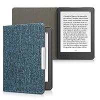 kwmobile 対応: Kobo Aura Edition 2 用 ケース - 布 電子書籍カバー - オートスリープ reader 保護ケース