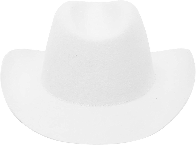 EOZY Cowboyhut Damen Herren Westernhut Wollfilz Outdoor Fedora Hut