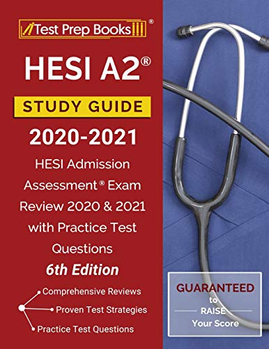 HESI A2 Study Guide 2020-2021: HESI Admission Assessment Exam Review 2020...
