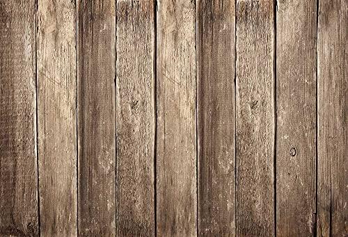 Fondo de fotografía Textura de tablón de Madera Piso de Madera fotografía de bebé Fondo fotográfico Estudio A2 10x7ft / 3x2.2m