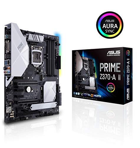 ASUS Prime Z370-A II (Intel 9th Gen)...