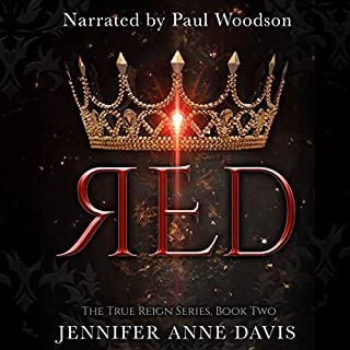 Red (The True Reign Series) audiobook cover art