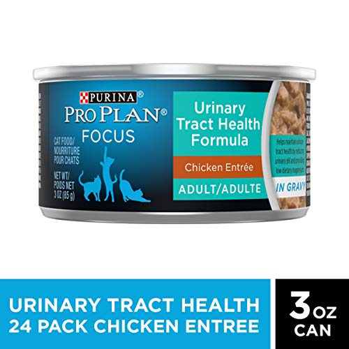 Purina Pro Plan Urinary Tract Health Gravy Wet Cat Food, FOCUS Urinary Tract Health Formula Chicken...