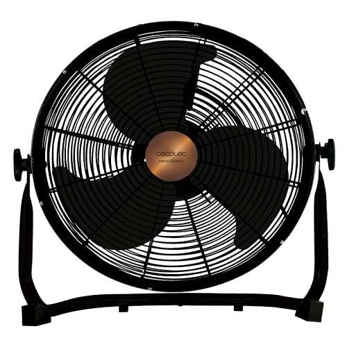 Cecotec 5933 Ventilador Industrial EnergySilence 3000 Pro, 90 W, 1 Cubic_Centimeters, 1 Decibelios, Negro