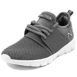 cheap Nautica Kids Boys Sneakers Comfortable Sneakers-Capil Youth-Storm Gray-5