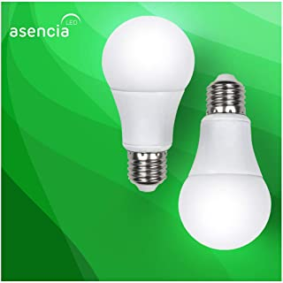 Asencia AN-03417 100 Watt Equivalent, Dimmable, A19 Standard LED Light Bulb, 2-Pack, Soft White (2700K)