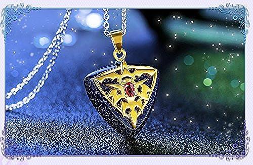 solo para ti SUNKEE Re Zero kara kara kara Hajimeru Isekai Seikatsu Cosplay Fresca del Regalo Collar Animado (Cadena de Cuero, oro)  Venta barata