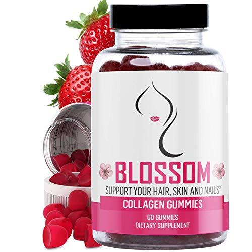 Collagen Gummies Hair and Skin Vitamin - Best Hydrolyzed Collagen...