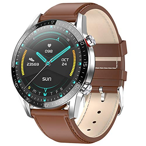 Huante Smart Watch Uomo Donna L13 ECG + PPG IP68 Tracker Fitness Frequenza Cardiaca Impermeabile per Andriod iOS PK L5 L8