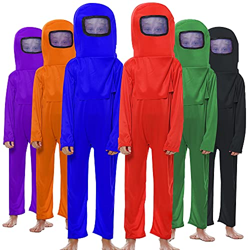 Kids A-mong Costume Nasa Astronaut Game Suit Space...